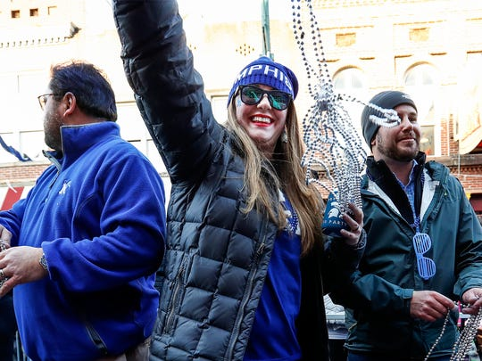 Scenes from the 2017 Liberty Bowl parade on Beale St.