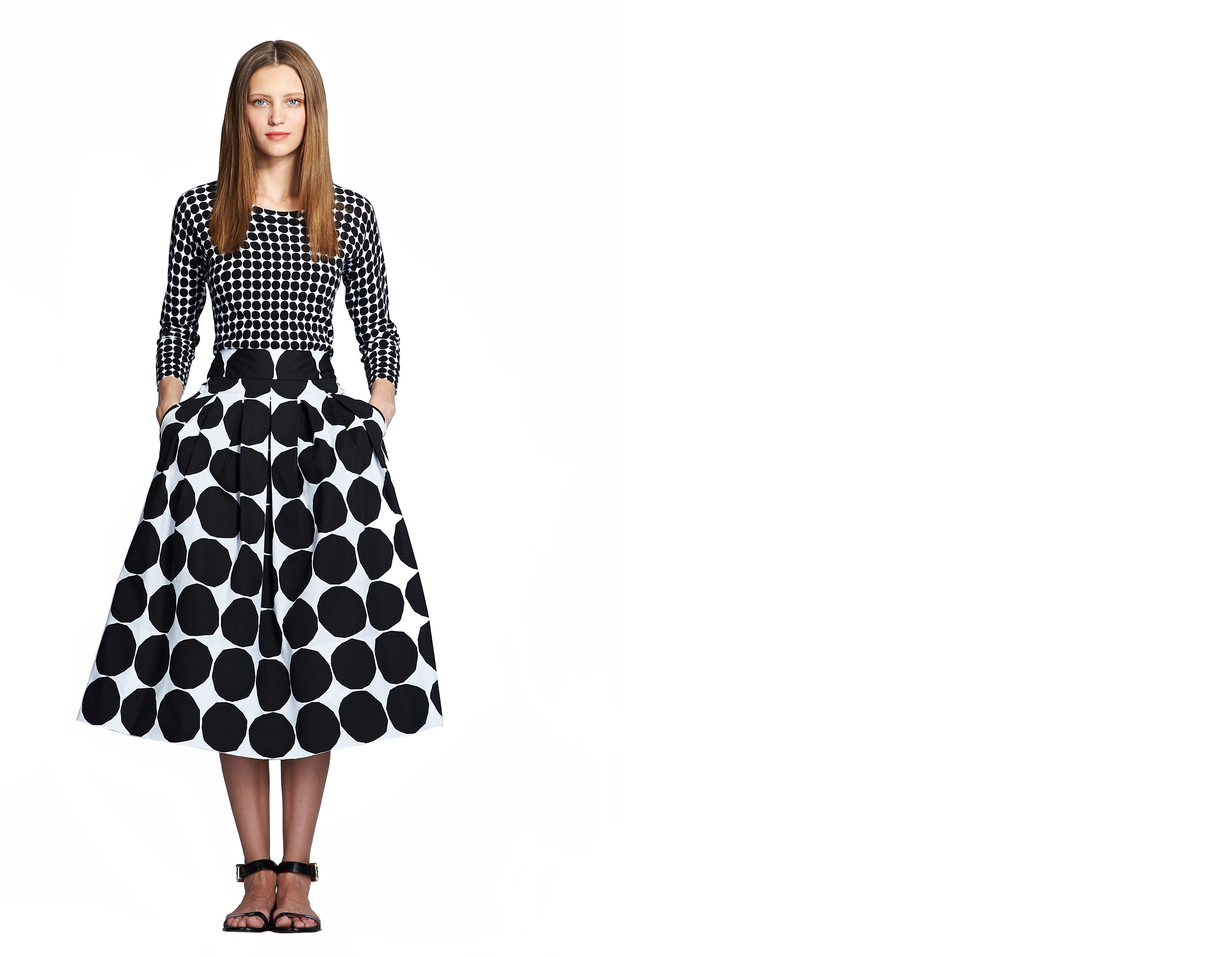 Fashion style Look First at marimekko for banana republic for girls
