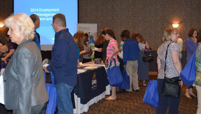 Last year's NKY Chamber job fair.