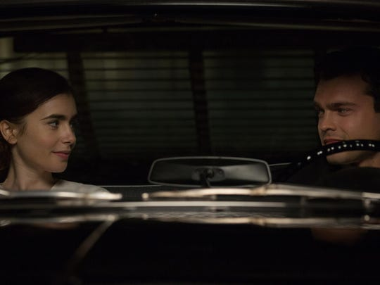 Small town beauty queen and aspiring actress Marla Mabrey (Lily Collins) finds herself attracted to her personal driver Frank Forbes (Alden Ehrenreich), even though it defies their employer Howard Hughes' #1 rule: no employee is allowed to have an intimate relationship with a contract actress.