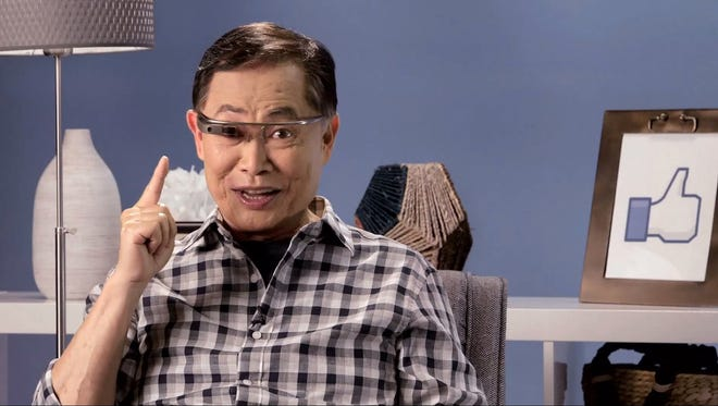 Geoge Takei, aka Sulu from the original Star Trek, transports to YouTube as the host of technology show 'Takei?s Take,' sponsored by AARP.