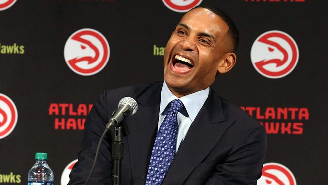 The Atlanta Hawks were purchased by an ownership group led by Tony Ressler, which 19-year NBA veteran Grant Hill is a part of.