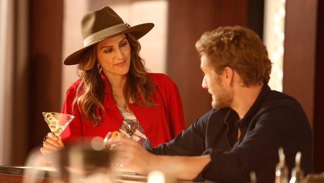 Jennifer Esposito and Brett Tucker appear on ABC's 'Mistresses,' which begins a new season Wednesday.