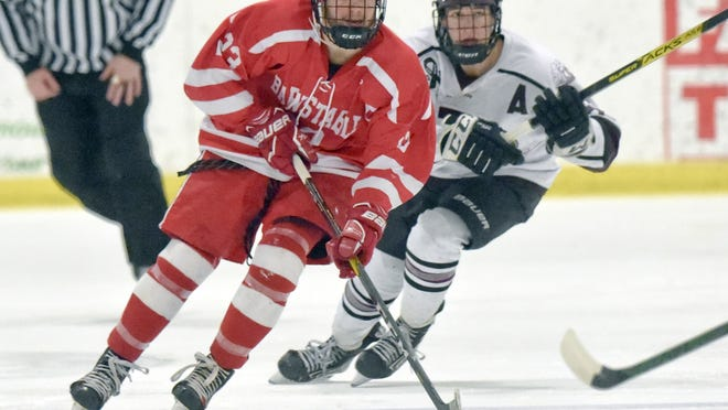 Four-year starter Brian Frieh has been named Most Valuable Player of the Barnstable boys hockey team. Frieh, who helped guide the Red Raiders to Old Colony League titles as a sophomore and junior, racked up 11 goals and 17 assists in his final season.