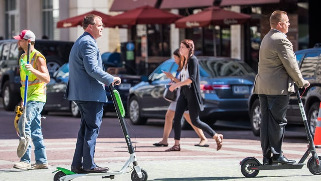Lime and Bird were the first two e-scooter companies to launch in Indianapolis.