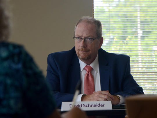 David Schneider, CEO of the Northern Michigan Regional Entity in Petoskey, received two votes from the panel as the top pick to become Summit Pointe's next leader. He touted his strong relationship with state employees and familiarity with the state's mental health system.