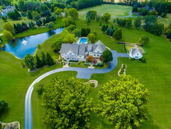 This $2.2 million home in Zionsville was modeled after