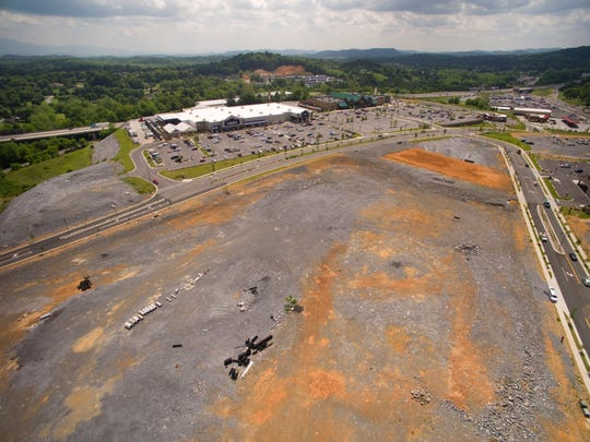 The Falls development in Bristol, Va., which was to be a $260 million hub of restaurants and shops, has fewer than 10 merchants.