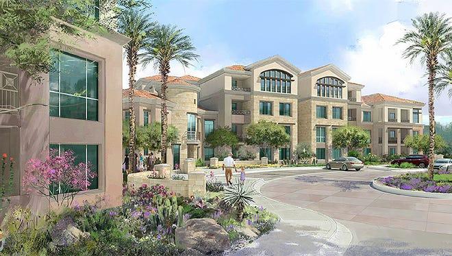 A rendering of Artesia in Scottsdale.