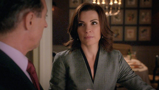 """Alicia (Julianna Margulies plays Alicia in """"The Good Wife."""
