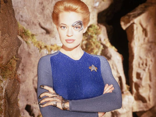 "Jeri Ryan of ""Star Trek: Voyager"""