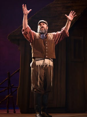 Danny Burstein plays Tevye the dairyman in Bartlett Sher's new Broadway revival of 'Fiddler On the Roof.'