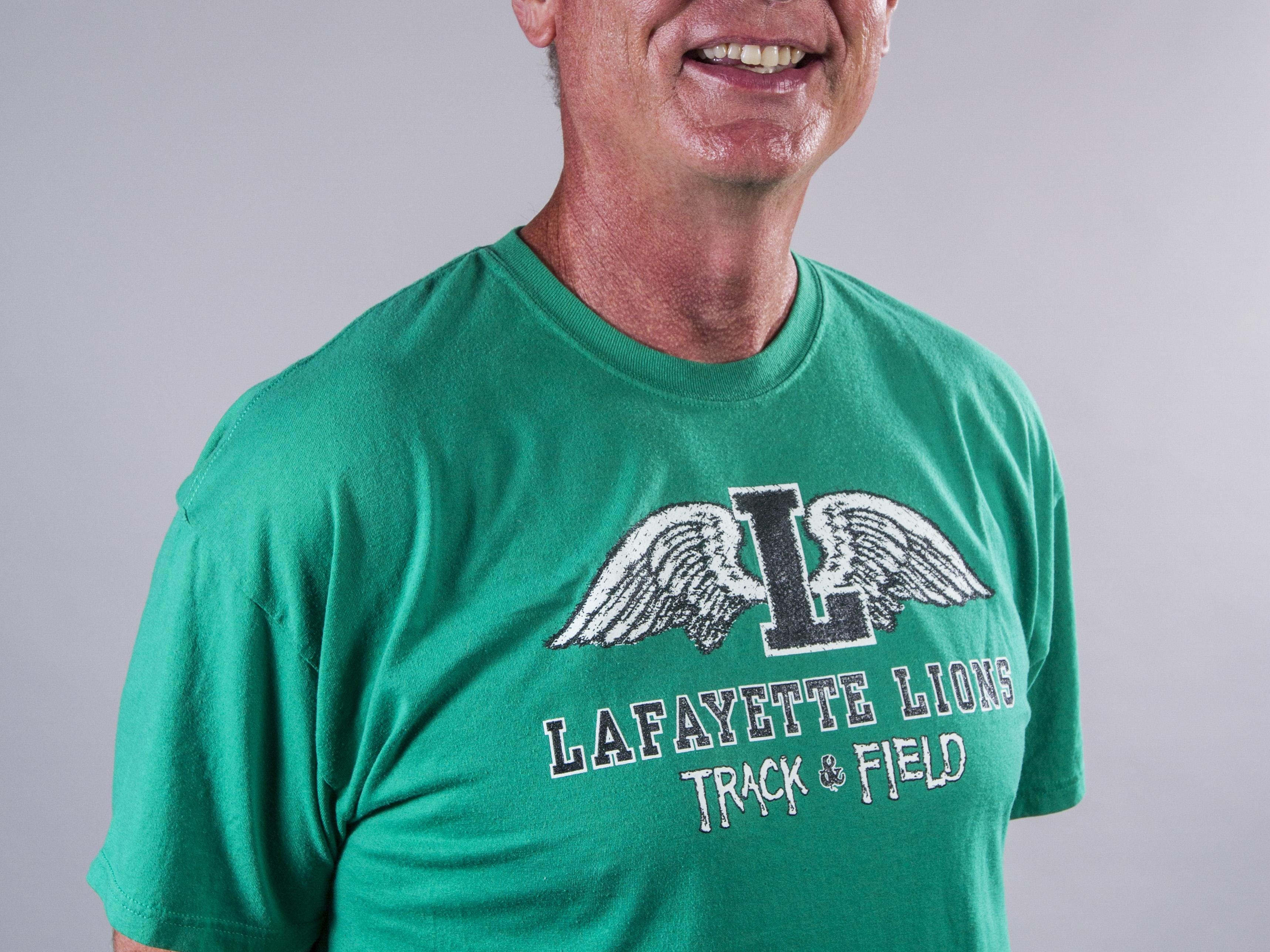 coach Ron Baillargeon, Lafayette High, All Acadiana Track & Field in Lafayette, La., Wednesday, June 24, 2015.