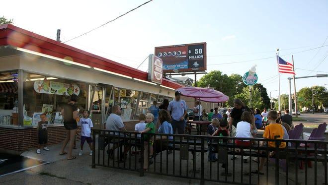 Snookies Malt Shop in Des Moines. Register file photo.