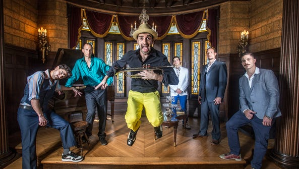 Flow Tribe performs at Vinyl Music Hall on Saturday.