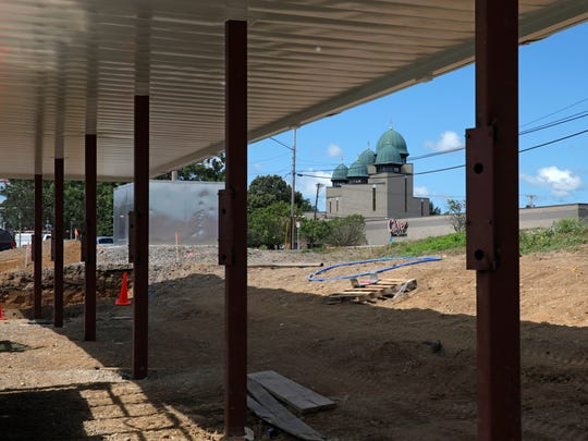 The new Sonic Drive-In is being built on East Ridge Rd near the St Josaphat's Ukrainian Catholic Church in Irondequoit.
