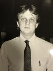 A picture of Joe Kemper from his time as the head men's and women's swimming coach at Youngstown State from 1981-84.