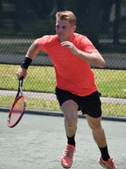 Joseph van Deinse is a co-owner of Vero Beach Tennis and Fitness Club and the tennis coach at St. Edward's School.