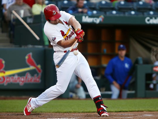 Luke Voit is hitting .283 - his career high as a professional