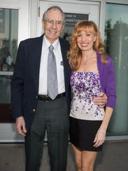 Charlie McGill with his daughter, Maureen.