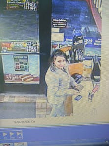 The Muskingum County Sheriff's Office is searching for the identity of a woman involved in a a felony theft of credit card, misuse and criminal damage.