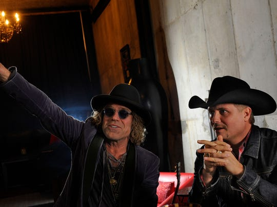 Big Kenny and John Rich of Big & Rich recently paired