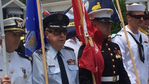 Normandy Beach holds an annual Flag Raising and Veterans Appreciation celebration