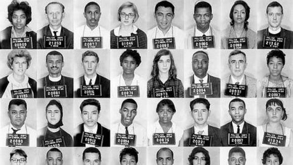 Starting in May 1961, Mississippi authorities began arresting Freedom Riders who challenged the segregation of buses and bus waiting rooms.
