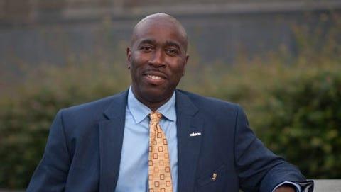 """Montgomery City Council District 4 candidate Quartez """"Dan"""" Harris."""
