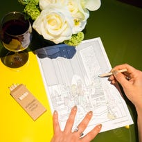 Blurred lines: Hotels offer their guests adult coloring books