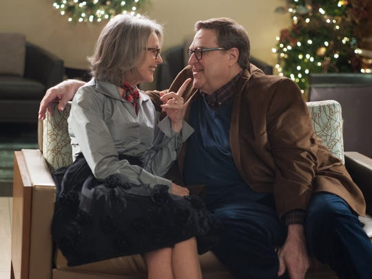 "Diane Keaton and John Goodman in a scene from ""Love"