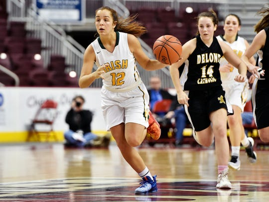 York Catholic's Kate Bauhof scored over 1,300 points in just three seasons of high school basketball.