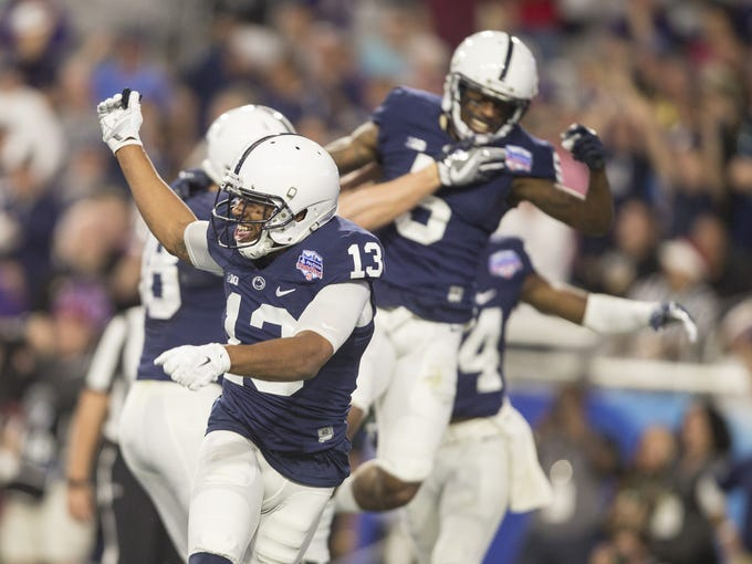Penn State Nittany Lions wide receiver Saeed Blacknall