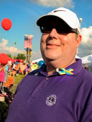 Smyrna Lions Club member Steve Falk was one of 2,000