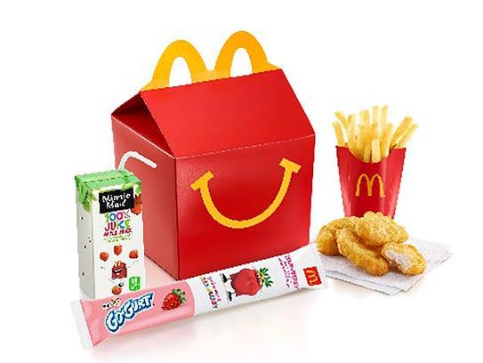McDonalds Happy Meal -- Happy Meal bundle; Generic
