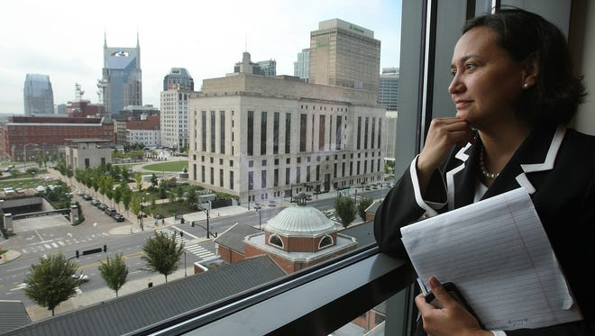 Nashville attorney Ana Escobar  s been named to the new Tennesse  (September 18, 2009 (JOHN PARTIPILO/THE TENNESSEAN)