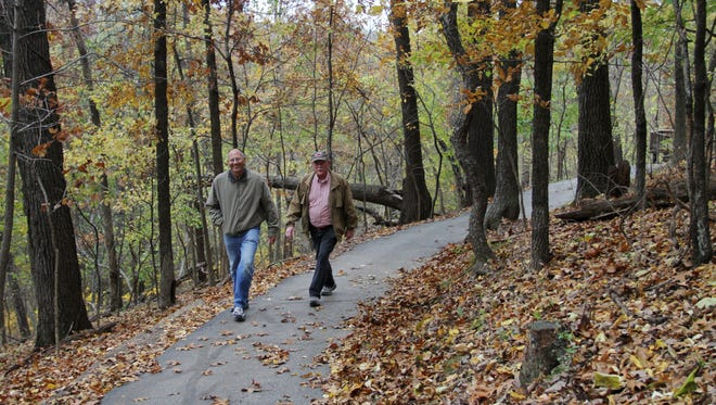 Nature Center trails are a popular place to see wildlife and get some fresh air.