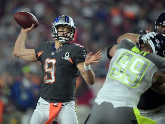 Detroit Lions' Matthew Stafford named Offensive MVP in ...