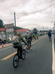 During Open Streets, the route is closed to motorized