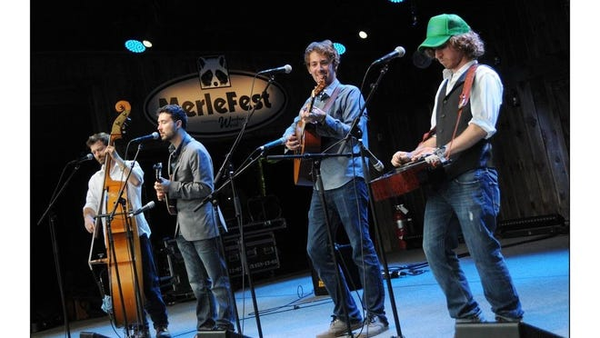 Fireside Collective (including former Elmira Heights resident Jesse Iaquinto, second from left) will perform in the region this weekend.