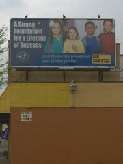 Cincinnati Public Schools uses billboards and TV- and radio commercials to attract students.