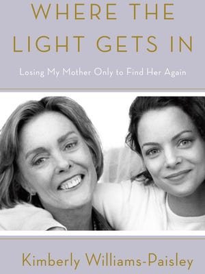 """Kimberly WIlliams-Paisley's book """"Where the Light Gets In,"""" was released in early April."""