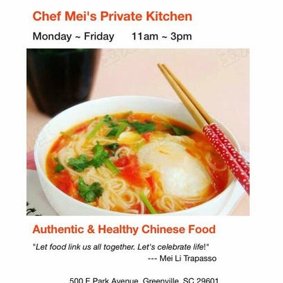 Mei Li Trapasso is bringing her authentic Chinese cooking