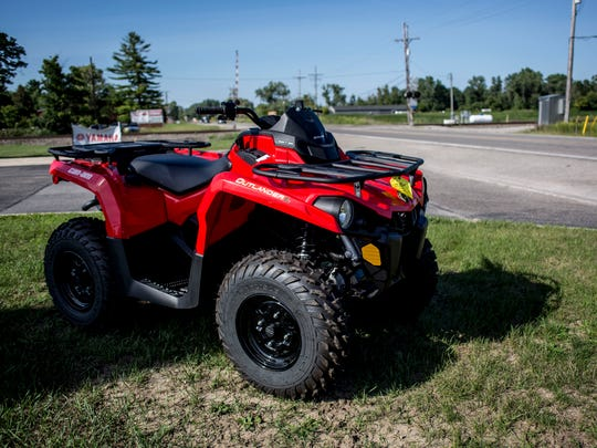 An ATV pictured at Grace Performance in Kimball Township. St. Clair County Commissioners are considering a new countywide ordinance on ORVs.