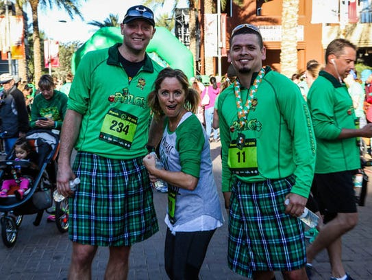 This year's Kilt Run may be record-breaking if the