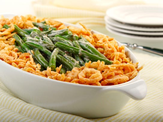 The green bean casserole proved to be almost as popular