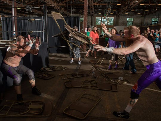 IGNITE Wrestling's Ready for War is Saturday at Walking Tree Brewery in Vero Beach.
