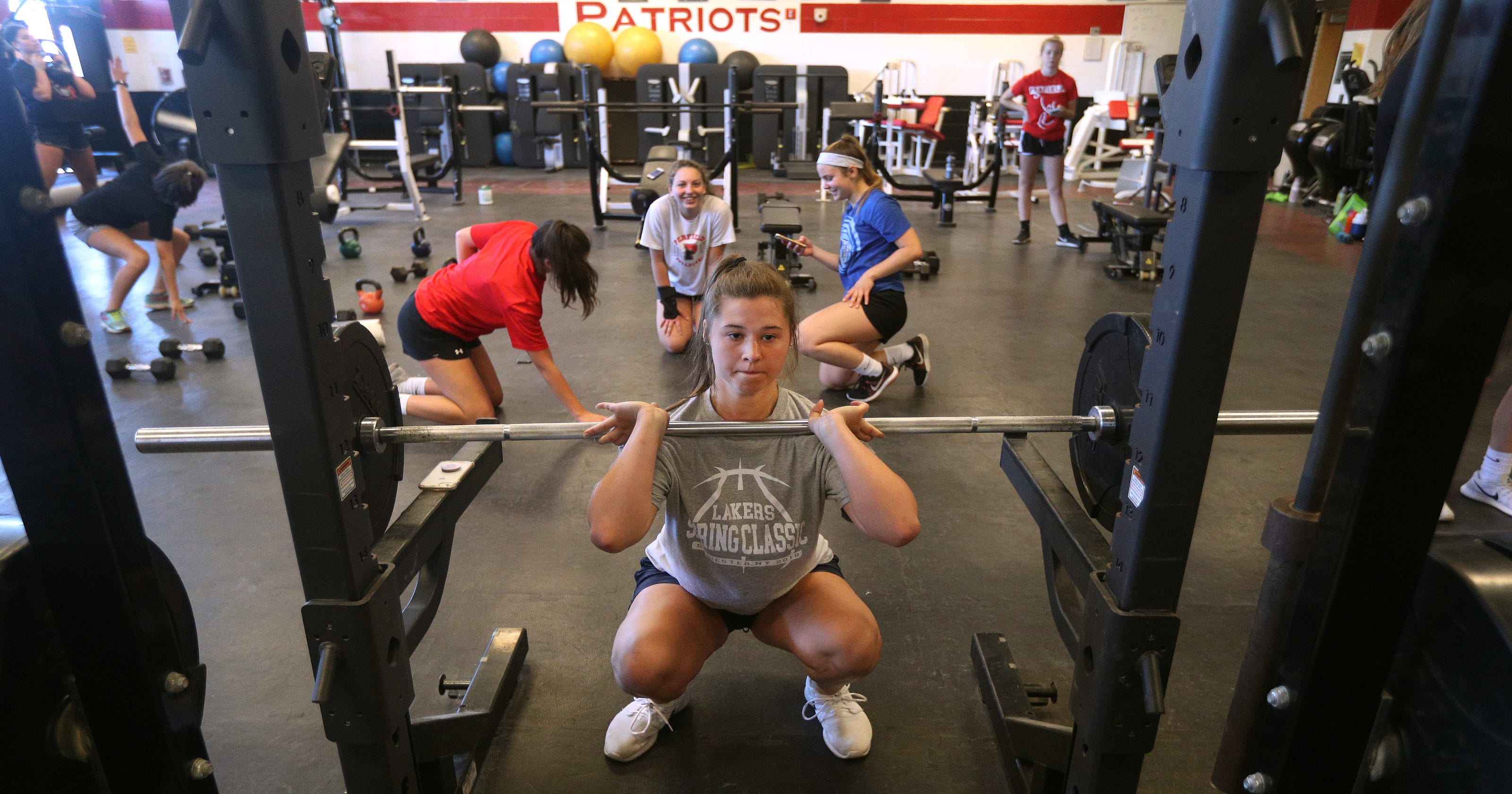 7a3abe1cff7072 High school sports  Athletes amp up training to boost performance
