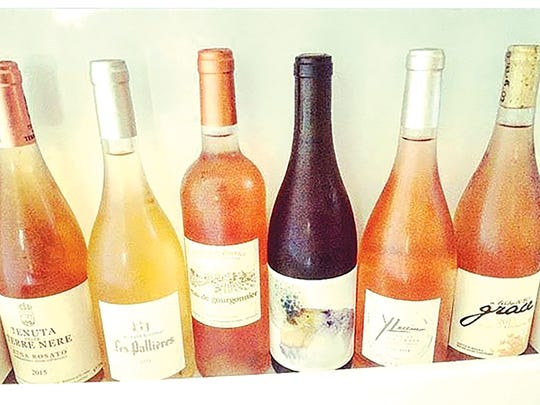 John's vacation wines prove that rosé loves a party.