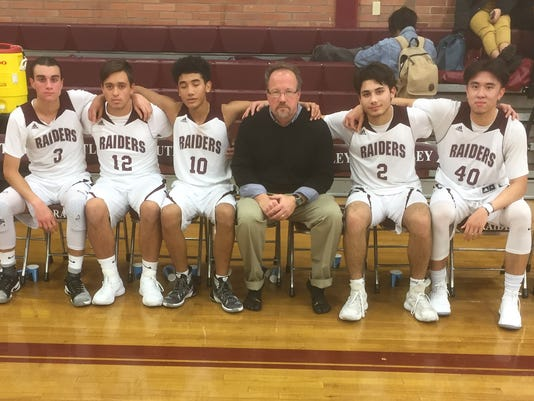 Nutley boys basketball